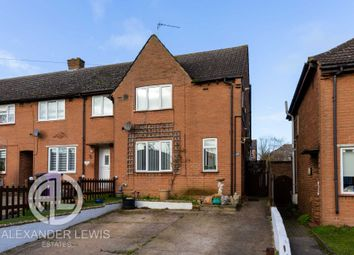 Thumbnail 3 bed end terrace house for sale in Hall Mead, Letchworth Garden City