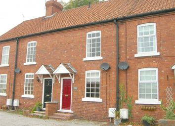 Thumbnail 2 bed terraced house to rent in Victoria Place, Blyth Road, Ranskill, Retford