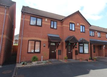 Thumbnail 2 bed semi-detached house for sale in Church View Close, Bloxwich, Walsall