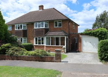Thumbnail 3 bed semi-detached house for sale in Old Claygate Lane, Claygate, Esher