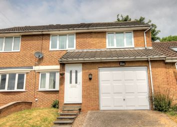 Thumbnail 4 bedroom semi-detached house for sale in Doddington Close, West Denton Park, Newcastle Upon Tyne