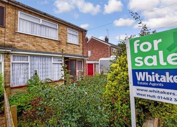 Thumbnail 3 bed semi-detached house for sale in St Martins Avenue, Hull, East Yorkshire