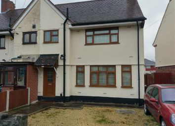 Thumbnail 3 bedroom semi-detached house to rent in St Anne's Road, Wolverhampton