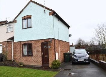 Thumbnail 2 bedroom semi-detached house to rent in Robinson Road, Newhall, Swadlincote