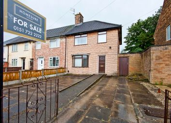 Thumbnail 3 bedroom end terrace house for sale in Damwood Road, Speke, Liverpool