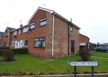 Thumbnail 3 bed property to rent in Hallam Road, Uttoxeter