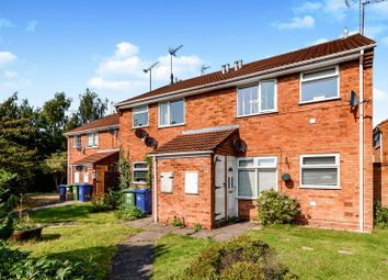 Thumbnail 1 bed flat for sale in Herondale, Cannock, West Midlands