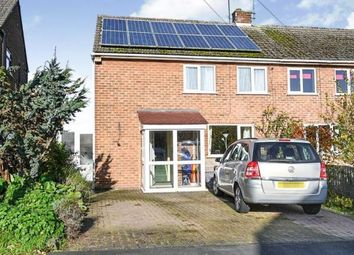 Thumbnail 3 bed semi-detached house for sale in Mill Close, Findern, Derby, Derbyshire