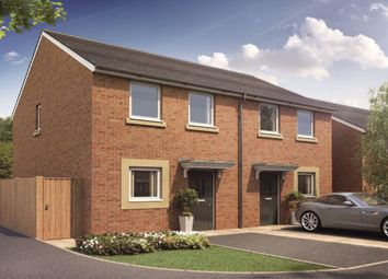 Thumbnail 2 bed semi-detached house for sale in Silver Birch Drive, Camperdown, Newcastle Upon Tyne