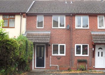 Thumbnail 2 bed terraced house to rent in Cheveley Court, Oakwood, Derby