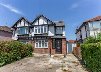 Thumbnail 3 bed flat for sale in Welland Gardens, Perivale