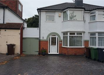 Thumbnail 3 bed semi-detached house to rent in Barrington Road, Solihull