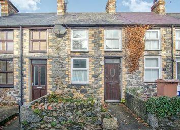 Thumbnail 2 bed terraced house for sale in Bodegroes Terrace, Efailnewydd, Pwllheli, Gwynedd