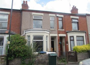 Thumbnail 3 bedroom terraced house to rent in Kingsland Avenue, Coventry, West Midlands