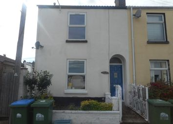 Thumbnail 3 bed end terrace house for sale in Caslte Street, Southampton