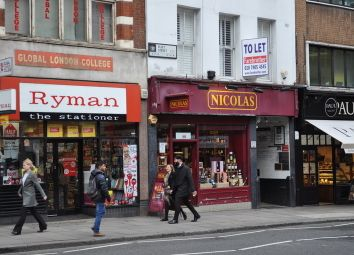 Thumbnail Retail premises to let in Fleet Street, London