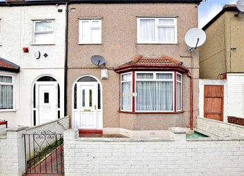 Thumbnail 3 bed end terrace house for sale in Caulfield Road, East Ham, London