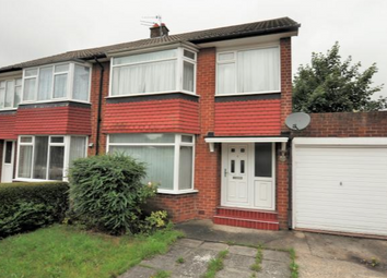 Thumbnail 4 bedroom semi-detached house to rent in Redesdale Avenue, Newcastle Upon Tyne, Tyne And Wear