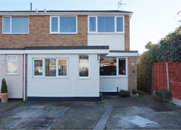Thumbnail 3 bed end terrace house for sale in Coral Close, South Woodham Ferrers