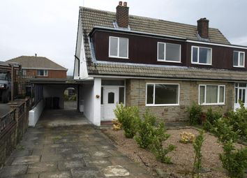 Thumbnail 3 bed semi-detached house to rent in Bracewell Road, Meltham, Holmfirth