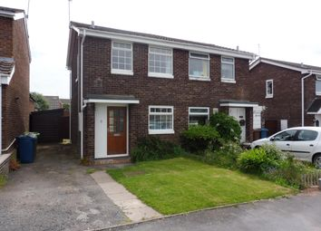 Thumbnail 2 bedroom semi-detached house to rent in Knightley Close, Gnosall, Stafford