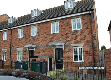 Thumbnail 3 bed terraced house to rent in Windermere Close, Wallsend