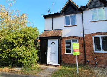Thumbnail 2 bed end terrace house for sale in Maxey Close, Shaw, Swindon