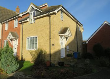 Thumbnail 3 bedroom semi-detached house for sale in Willow Close, Sudbury