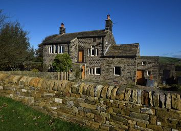 Thumbnail 3 bed detached house for sale in Slack Top, Slack, Heptonstall