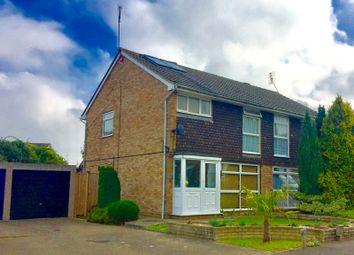 Thumbnail 3 bed semi-detached house for sale in Molescroft Way, Tonbridge, Kent