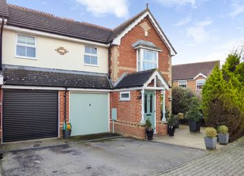 3 bed terraced house for sale in Saxon Close, West Malling, Kent ME19
