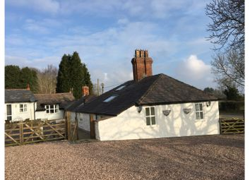 Thumbnail 4 bed detached bungalow for sale in Village Road, Rhosesmor