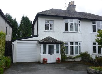 Thumbnail 3 bed semi-detached house for sale in Loughrigg Avenue, Ambleside