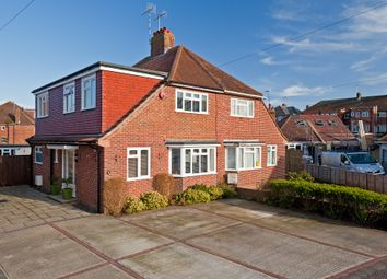 Thumbnail 4 bed semi-detached house for sale in Bruce Avenue, Goring-By-Sea, Worthing
