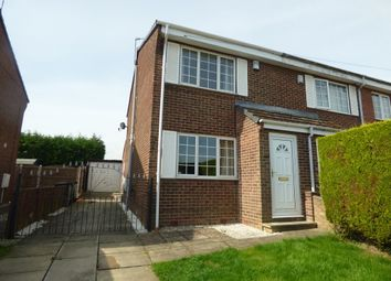 Thumbnail 2 bed semi-detached house to rent in Redgrave Place, Flanderwell, Rotherham