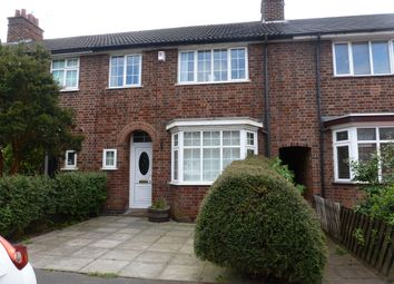 Thumbnail 3 bed terraced house to rent in Grangeway Road, Wigston