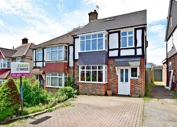 Thumbnail 4 bed semi-detached house for sale in Baranscraig Avenue, Brighton, East Sussex