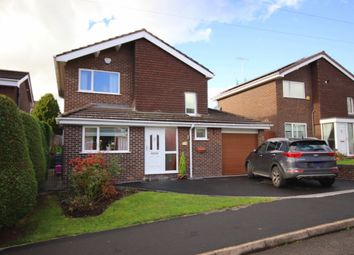 Thumbnail 3 bed detached house for sale in Snowdon Drive, Woolstanwood, Crewe