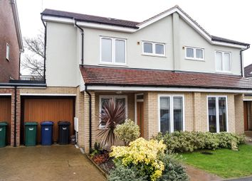 Thumbnail 4 bed semi-detached house to rent in Carter Close, Barnet
