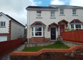 Thumbnail 3 bed semi-detached house for sale in Bancffosfelen, Llanelli