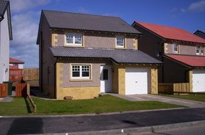 Thumbnail 3 bed detached house to rent in Marleon Field, Silvercrest, Moray, Elgin