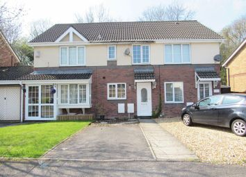 Thumbnail 2 bed terraced house for sale in Coedriglan Drive, Michaelston-Super-Ely, Cardiff