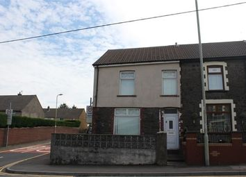 Thumbnail End terrace house to rent in Trebanog Road, Cymmer, Porth, Rhondda Cynon Taff.