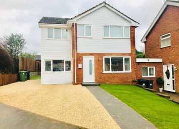 Thumbnail 4 bed detached house for sale in Hicks Close, Warwick
