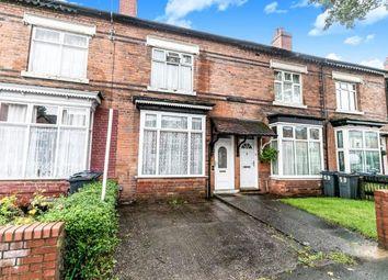 3 bed terraced house for sale in Wilton Road, Handsworth, Birmingham, West Midlands B20