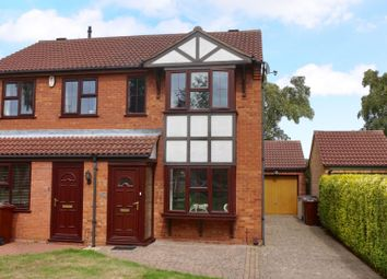 Thumbnail 2 bed semi-detached house for sale in Wedgewood Road, Lincoln