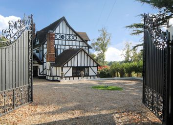 Thumbnail 9 bed detached house for sale in Edgwarebury Lane, Elstree