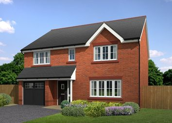 "Thumbnail 4 bed detached house for sale in ""Healey"" at Main Road, New Brighton, Mold"