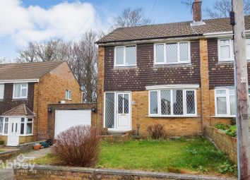 Thumbnail 3 bed semi-detached house for sale in Woodview, Cimla, Neath