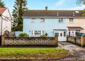 Thumbnail 3 bed end terrace house for sale in Templeton Avenue, Llanishen, Cardiff